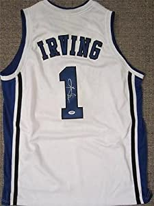 KYRIE IRVING SIGNED DUKE JERSEY CLEVELAND CAVALIERS PSA DNA by KLF Sports