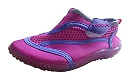 TOOSBUY Childrens Slip-On Athletic Water Shoes/Aqua Socks (Toddler/Little Kid) P17