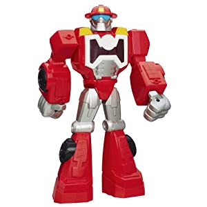 Playskool Transformers Rescue Bots Heatwave the Fire-Bot Figure, 12-Inch