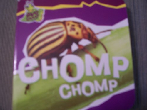 Educational Bug Crazy Board Book ~ Chomp Chomp - 1
