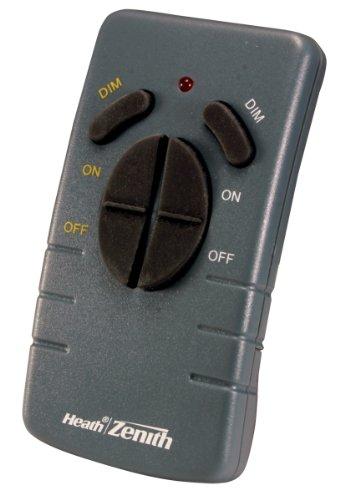 Heath Zenith Wc-6005-Bk Wireless Command Lighting Remote Control, Black