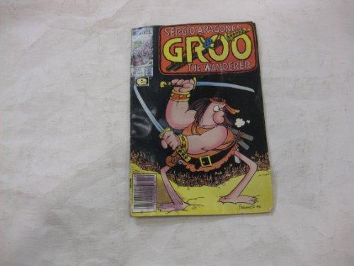 Sergio Aragone's GROO The Wanderer Marvel Comic Book 22 Dec 1985 - 1