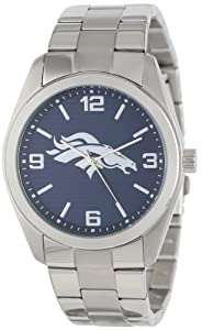 Game Time Unisex NFL-ELI-DEN Elite Denver Broncos 3-Hand Analog Watch by Game Time