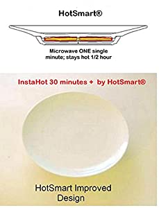 HotSmart Hot Gourmet Plates - InstaHot 30 minute Plus (Patented)