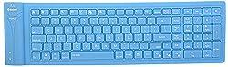 NESCO B115 Bluetooth Foldable Keyboard (Blue)
