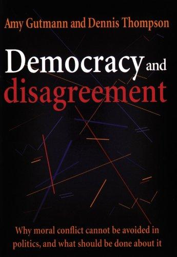 Democracy and Disagreement PDF