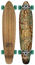 Globe Kaguya Bamboo Complete Longboard Skateboard - 43`