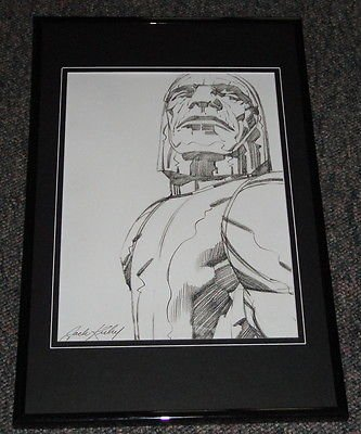 Darkseid New Gods Framed 11X17 Photo Poster Display Official Repro Jack Kirby front-594662
