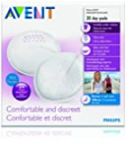 Philips AVENT SCF254/60 Day Disposable Breast Pads, 60-Count