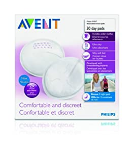 Philips AVENT Day Disposable Breast Pads, 60-Count