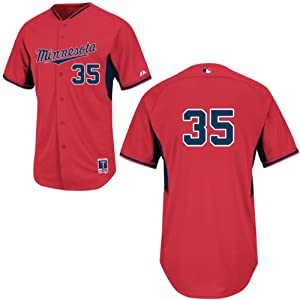Ron Gardenhire Minnesota Twins Red Batting Practice Jersey by Majestic by Majestic
