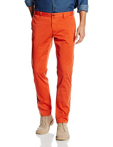 Gant Men's Slim Comfort Chino, Pantaloni Uomo, Orange (Burnt Ochre), W38/L34