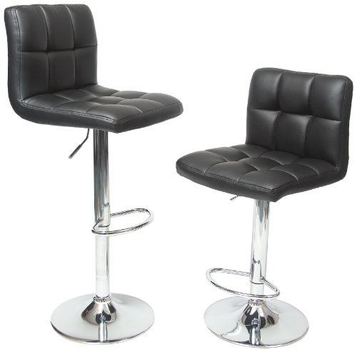 roundhill-furniture-swivel-black-bonded-leather-adjustable-hydraulic-bar-stool-set-of-2