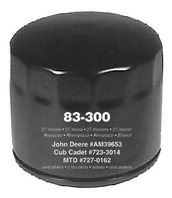 Oregon 83-300, Transmission Filter Hydro