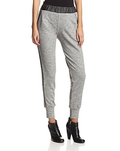 Sen Women's Charlie Pants with Faux Leathers