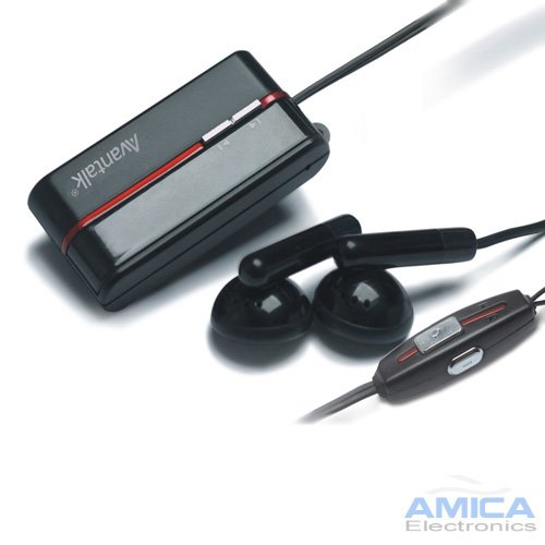 Clip-On Stereo Mutimedia Bluetooth Headset With Built-In Mic For All Iphone Phones