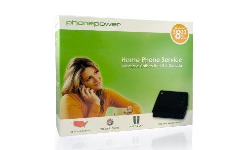 Phone Power IF-ITVV-CFFY Phone Power Broadband Telephone Service VoIP Phone and Device