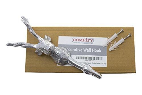 Decorative Hand Cast Aluminum Deer Stag Wall Hook