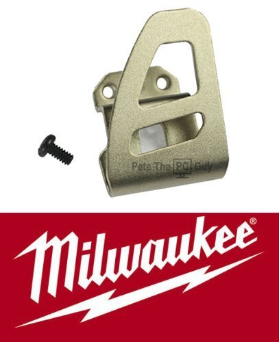 Milwaukee 42-70-2653 Belt Clip Assy. Clip/ Screw. Fuel Too (Milwaukee 18v Drill Driver compare prices)