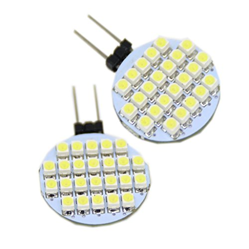 Generic 24-Led 3528Smd Led Spotlight Rv Marine Car Light Bulb Lamp 12V Color White