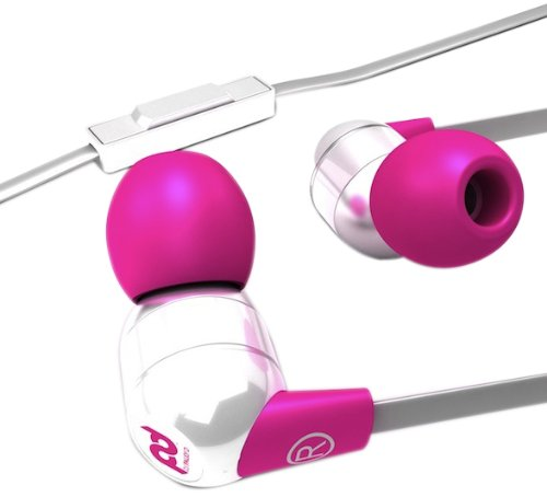 Sms Audio Sms-Pd-Eb-002 Dj Pauly D Wired In-Ear Headphones - White And Pink