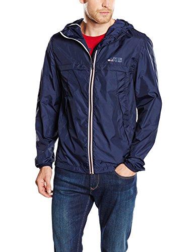 TOMMY HILFIGER DENIM - Hd Nylon Jacket 11, Abrigo de hombre, azul,...