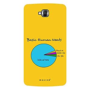 Mozine Basic Human Needs printed mobile back cover for LG pro lite