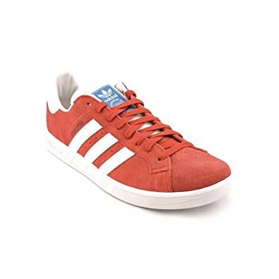 adidas Men's The Grand Prix Suede Sneaker 8.5 Red