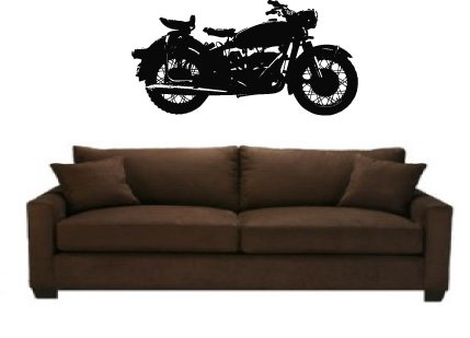 Vintage Motorcycle Vinyl Wall Decal Sticker Graphic