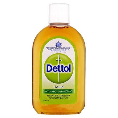 Dettol Liquid Antiseptic Disinfectant for First Aid - Original - 125ml