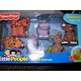 Fisher Price Little People Noah's Animals Kangaroos, Hippos, and Leopards- Assortment