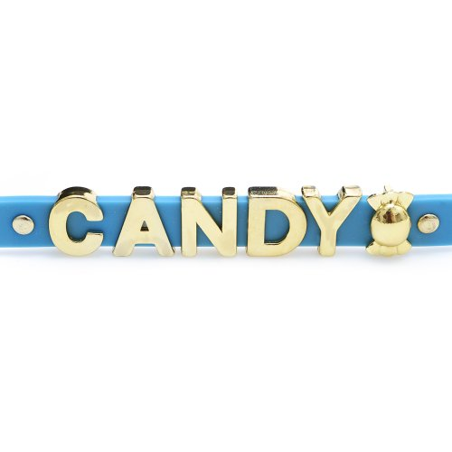 Dylan's Candy Bar Rubber Slider Bracelet -