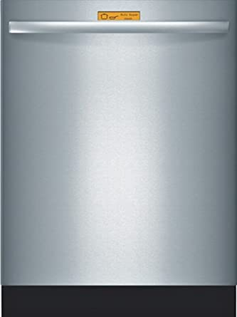 """Bosch SHX98M09UC 800 24"""" Stainless Steel Semi-Integrated Dishwasher - Energy Star"""