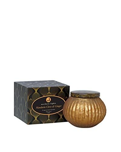 Northern Lights Candles Lustre 10-Oz. Mandarin, Clove & Ginger Candle