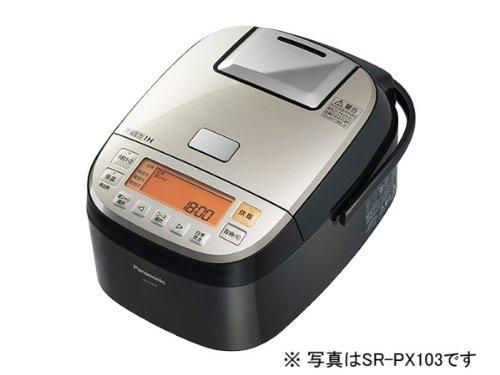 パナソニック おどり炊き 可変圧力IHジャー炊飯器 10合 ステンレスブラック SR-PX183-K