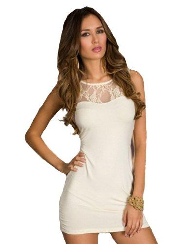 Glanzwelten sinnliches GOGO Outfit Dancewear erotisches Clubwear- Kleid GOGO Kleid damen mini Kleid Gr. 36/38