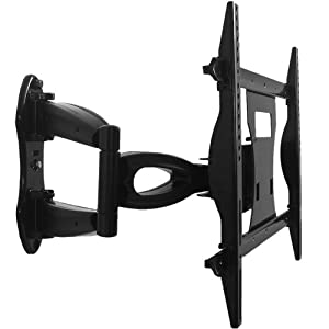 corner swiveling cantilever tv wall mount electronics. Black Bedroom Furniture Sets. Home Design Ideas