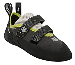 Evolv Defy VTR Climbing Shoe with FREE Climbing DVD ($30 Value) (Men\'s US 9.5, New Charcoal)