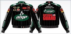 DALE EARNHARDT JR BLACK MT DEW JACKET by RacingGifts