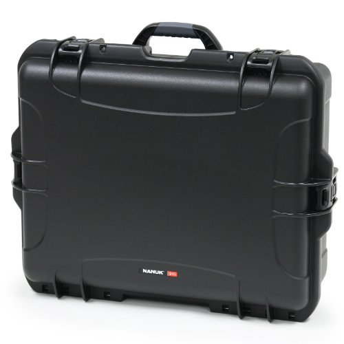 Nanuk 945 Case With Cubed Foam -Black