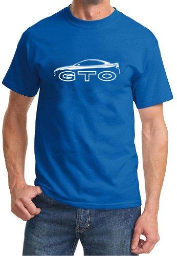 2004 2005 2006 Pontiac GTO Classic Outline Design Tshirt 2XL royal (Pontiac Gto Shirt compare prices)