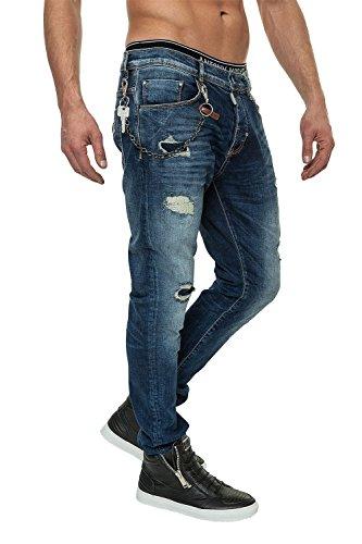 Antony Morato Jeans da uomo Pantaloni Denim Blu (7010) W34