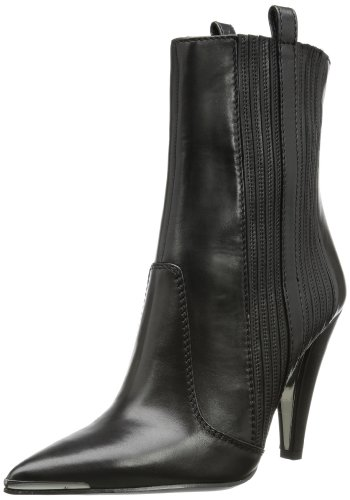 Sebastian Women's Black Heeled Boots 5.5 UK