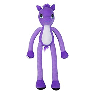 Stretchkins Pony Plush Toy (Purple)