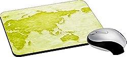 meSleep World Map Mouse Pad