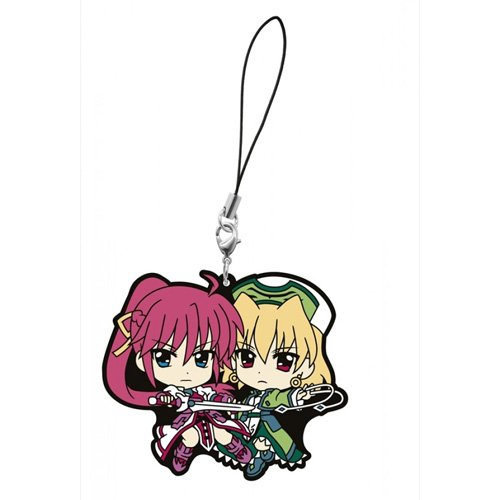 What lottery premium Magical Girl Lyrical most The MOVIE 2nd A's second bullet F award rubber strap Signum and Shamal (japan import)