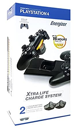 Energizer 2X Extra Life Charge System for PS4