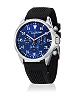 Stuhrling Original Reloj con movimiento cuarzo suizo Man Aviator 600.02 Negro 41.0 mm
