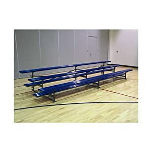 Jaypro Sports Blch-3trgpc Powder Coated 3 Row 15 Ft Tip And Roll by Jaypro Sports