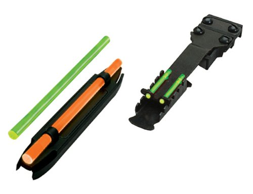 """HIVIZ Combo Pack, Front and Rear Sights (Fits Shotguns with Vent Ribs 11/64""""- 17/64"""")"""